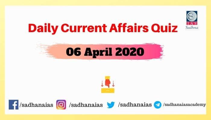 Daily Current Affairs Quiz (1)